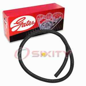 Gates Gear To Pipe Power Steering Return Hose for 1989-1990 Mitsubishi Sigma zx