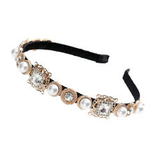 Baroque Ladies Jeweled Headband Crystal Embellished Hairband Hair Accessories
