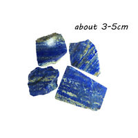 100g Natural Blue Lapis Lazuli Raw Crushed Stone Healing Reiki Crystal Specimen