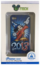 iPhone 4S Case Disney Parks dTech  Authentic Mickey Mouse Sorcerer Fantasia  NIB