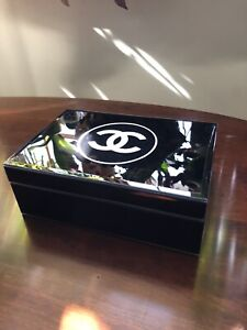 Chanel Home Decor Black And White Box