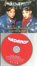 NADANUF & KURTIS BLOW Breaks / 6 A.M. w/ RARE MIXES & EDIT CD Single USA seller