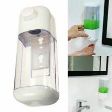 500ML Bathroom Wall Mounted Dispenser Shower Shampoo Liquid Lotion Dispenser
