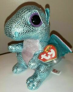 Ty Beanie Boos - HOLLY the Dragon (6 Inch)(2020 Claire's Exclusive) NEW MWMT