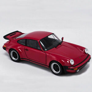 1:24 Porsche 911 Turbo 3.0 1974 Model Car Diecast Toy Kids Collection Red