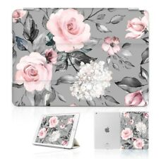( For iPad 2 3 4 ) Front Back Case Cover PB40021 Classic Flower