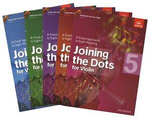 Joining the Dots Violin ABRSM - Options: Grade 1,2,3,4,5 by Allan Bullard