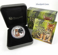 2010 BUSH BABIES DINGO Silver Proof Coin