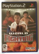 PS2 World Fighting (2005), UK Pal, Brand New & Factory Sealed