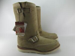 CHIPPEWA THE WALK 1901M02 Vibram Boots Lether SIZE EUR 40.5/ JPN25.5/ US 7.5E