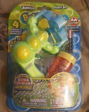 Amazing bubbles Bubbles Gun with bubbles & Battery  GREEN