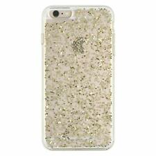 Kate Spade Clear iPhone 6 Plus iPhone 6s Plus Hardshell Case Cover Gold Glitter
