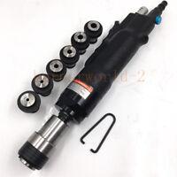 Pneumatic tapping machine 200rpm Self-locking Gun Air Drill + 6pc Chuck (M3-M12)
