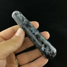 Blue Moonstone 102mm 100g 1904-140 Larvikite Massage Therapy Wand Pressure Point