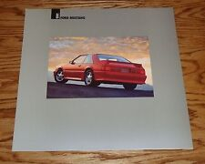 1991 Ford Mustang Catalog Sales Brochure 5.0 91