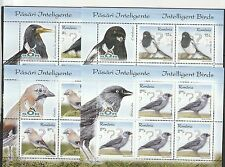 ROMANIA 2017, Bird, MNH, klbg, clever birds, crow, magpie