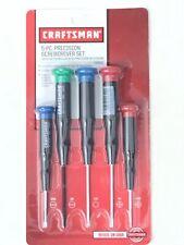 Craftsman 5-PC. Precision Screwdriver Set. New!! Made In USA !!!