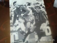 Chelsea v Coventry city football picture hollins + machin B+W A4