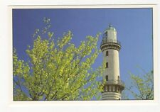Warnemuende Germany Lighthouse Postcard 407a ^