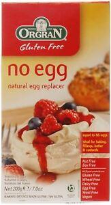 Orgran No Egg - Natural Egg Replacer - 200g