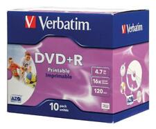 Verbatim pack de 10 dvd+r 16x 4.7gb