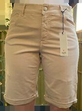 ANGELS Jeans Bermuda TU' in Coloured Denim Gr. W36 / 38 beige sand beach