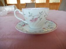 "Johnson Brothers ""Summer Chintz"" Cup and Saucer"