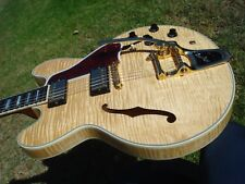 Gibson ES-355 Historic 59 1959 Reissue USA Natural Blonde Maple Flame Bigsby