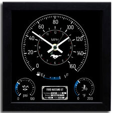 Speedometer Wall Clock - Ford Mustang GT | Perfect as a Gift