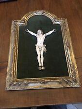 Crucifix Jesus Christ IVoire 18 Cm De Haut