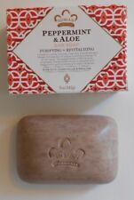 -Nubian Heritage Peppermint 5oz Soap / Shea Butter Bar