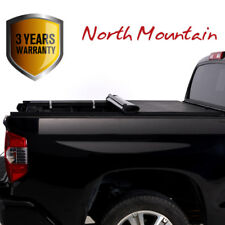 Black Soft Roll-Up Tonneau Cover Fit 04-14 F150 06-14 Mark LT 5.5' Styleside Bed