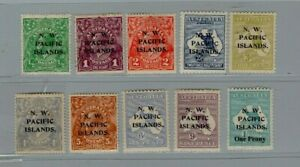 New Guinea N,W,P,I, Stamps