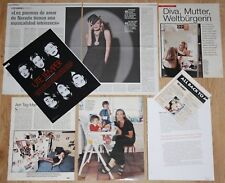 UTE LEMPER clippings 1990s/00s magazine articles female singer photos