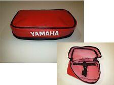 Borsello portattrezzi rosso tool carriers artigianale Yamaha XT600  2kf