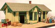 Berkshire Valley Models O/On3/On30, 1/48 Small Town Station w/ details  - #858