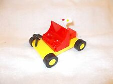 Action Figure Peppa Pig Car Yellow Red 4 inch 2003