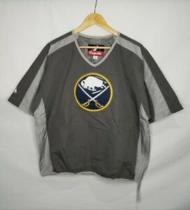 Majestic Buffalo Sabres Men's Pullover Windbreaker Jacket Size Small NHL