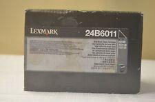 C2132 XC2130 XC2132 Black Toner Lexmark 24B6011 Genuine Original  - Box Marked