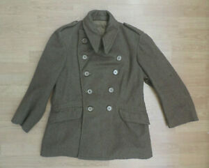 Men's Greatcoat Dismounted No.4 1951 Pattern Military Jacket K Lawson R11-3