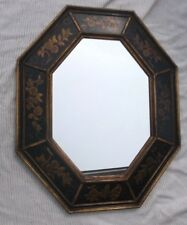 LaBarge Decorative Painted Wood Frame Wall Mirror No. 1513 Made in Italy