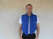 Men's Eddie Bauer Vest, Med., Blue, Goose Down