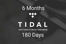 Tidal Hifi 180 Giorni - 180 Days - Private 100% - Worldwide - Guaranteed