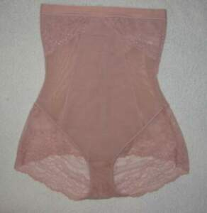 Spanx Shapewear Spotlight On Lace High Waisted Shaping Gr. 38/40 M  Vintage Rose