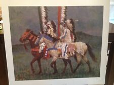 Howard Terpning Prairie Knights Sold Out Limited Edition Print Greenwich