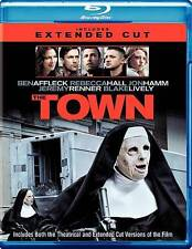 The Town (Blu-ray/DVD, 2010, 2-Disc Set, Extended/Theatrical) FREE SHIPPING