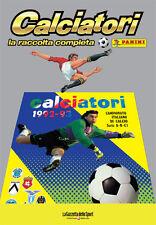 ALBUM PANINI CALCIATORI LA RACCOLTA COMPLETA 1992-93 1993 GAZZETTA DELLO SPORT