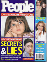 People Magazine Casey Anthony Meredith Vieira Angelina Jolie Brad Pitt 2011