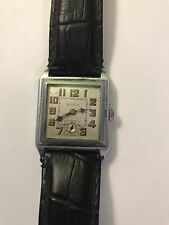 Vintage BULOVA Art Deco Men's Wrist Watch 10AN (Working)