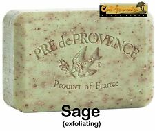 Pre de Provence French Soap SAGE Fragrance 150 Gram Bath Shower Bar Shea Butter